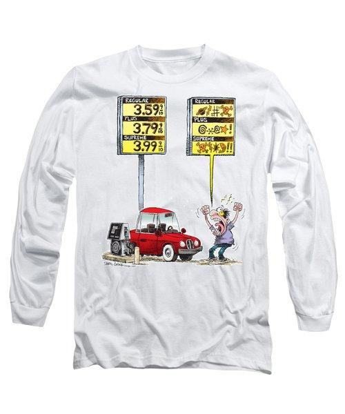 Gas Price Curse Long Sleeve T-Shirt