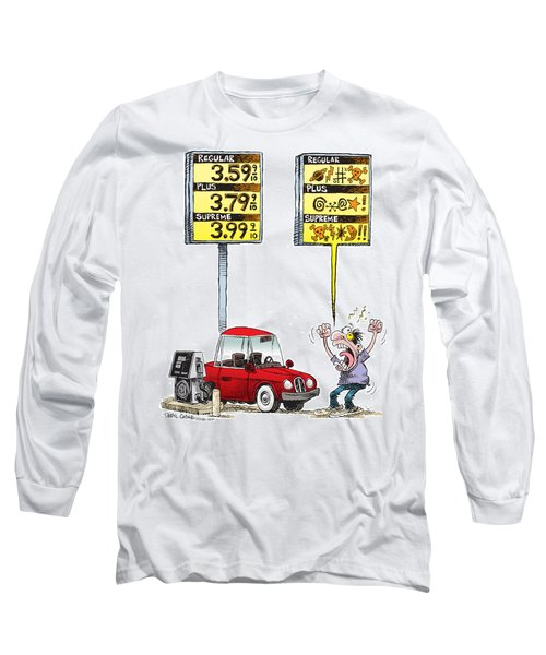Gas Price Curse Long Sleeve T-Shirt