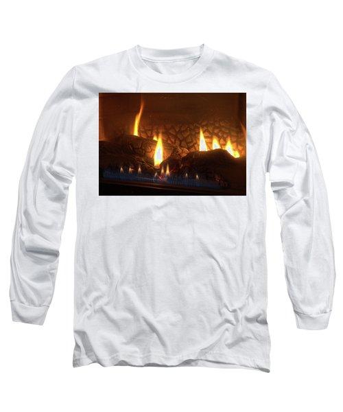 Gas Stove Flame Long Sleeve T-Shirt