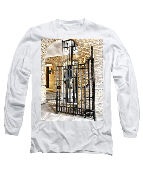 Gates At Hay's Galleria London Long Sleeve T-Shirt