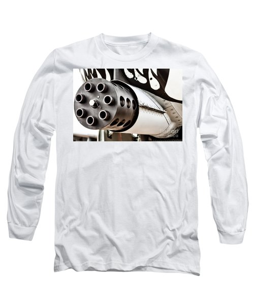 Gatling Long Sleeve T-Shirt by Lawrence Burry
