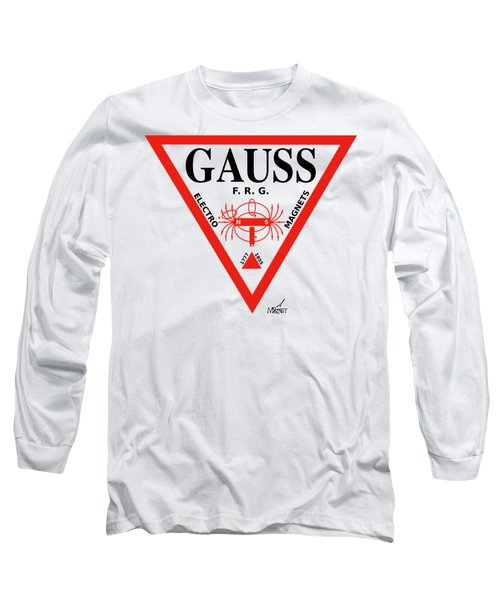 Gauss Long Sleeve T-Shirt