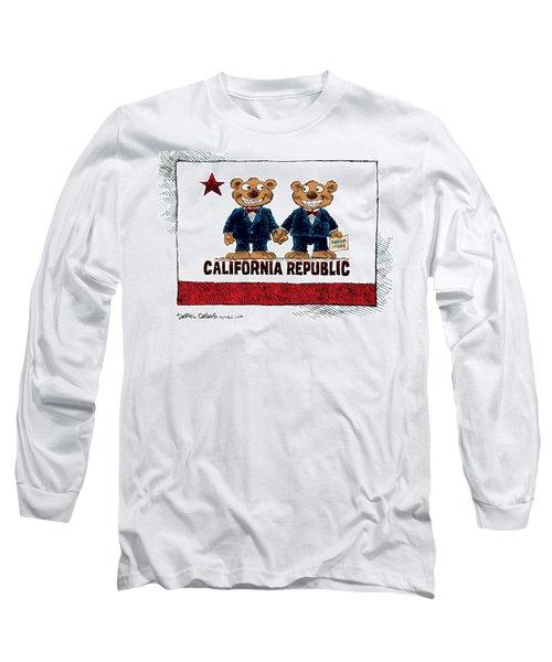 Gay Marriage In California Long Sleeve T-Shirt