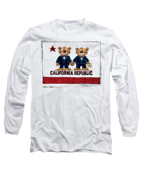 Gay Marriage In California Long Sleeve T-Shirt