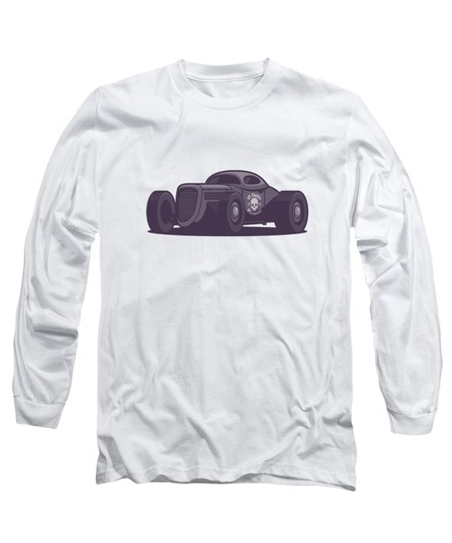 Gaz Gl1 Custom Vintage Hot Rod Classic Street Racer Car - Aqua Long Sleeve T-Shirt