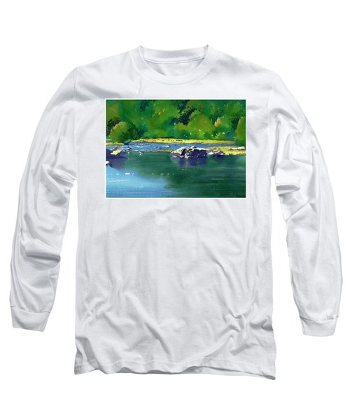 Geese On The Rappahannock Long Sleeve T-Shirt