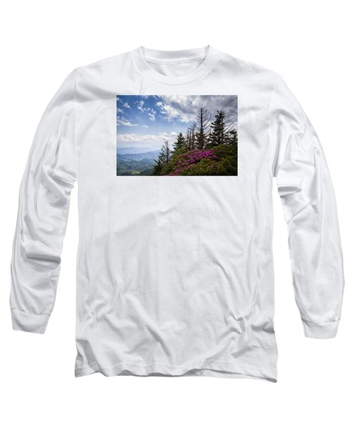 Rhododendrons - Roan Mountain Long Sleeve T-Shirt