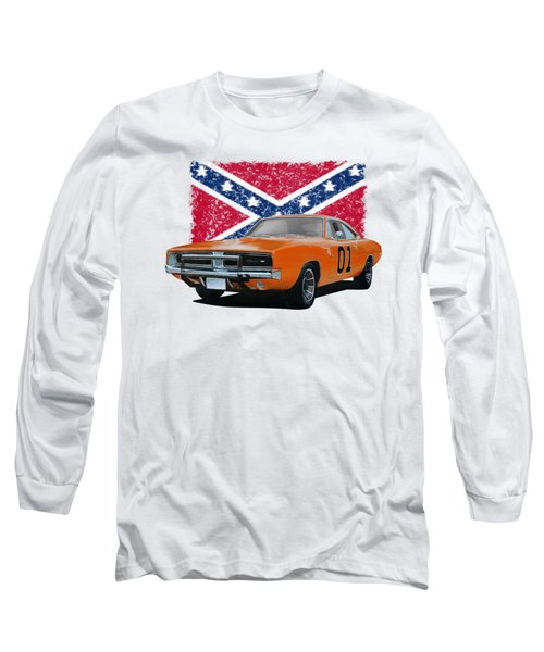 General Lee Rebel Long Sleeve T-Shirt