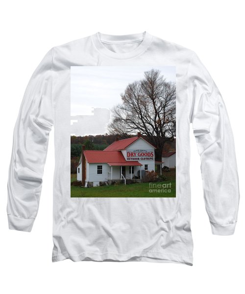 General Store Long Sleeve T-Shirt by Eric Liller