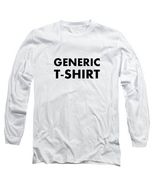 Generic Tee Long Sleeve T-Shirt