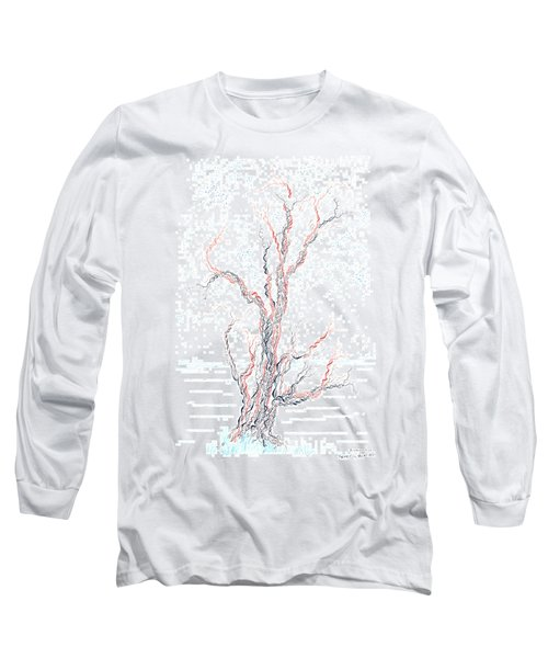 Genetic Branches Long Sleeve T-Shirt by Regina Valluzzi