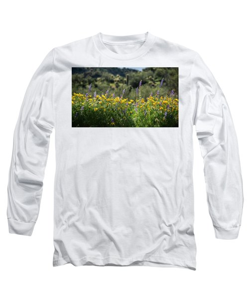 Long Sleeve T-Shirt featuring the photograph Gently Swaying In The Wind  by Saija Lehtonen