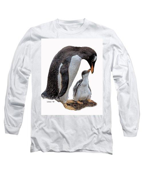 Gentoo Penguins Long Sleeve T-Shirt