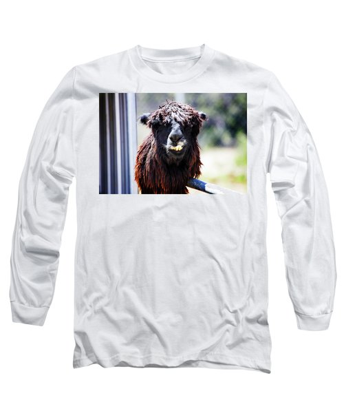 Long Sleeve T-Shirt featuring the photograph Geofery by Anthony Jones