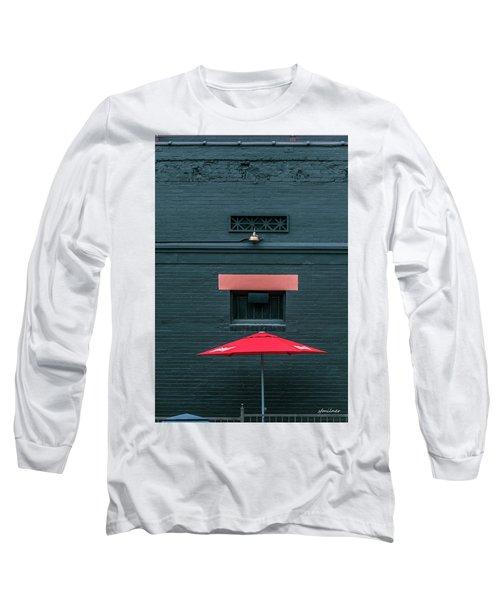 Geometric Illusion Long Sleeve T-Shirt