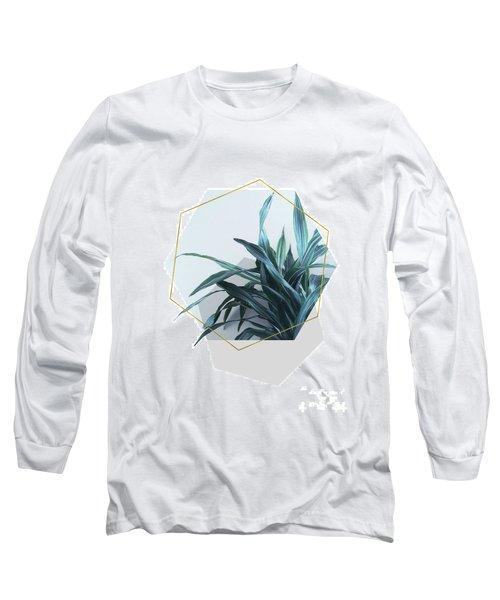 Geometric Jungle Long Sleeve T-Shirt