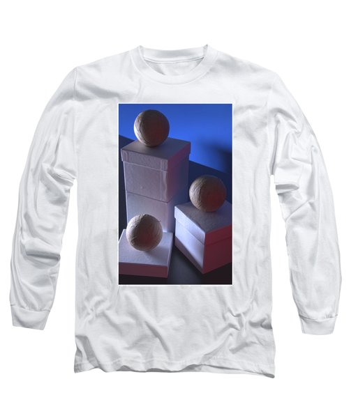 Geometric Triad Long Sleeve T-Shirt