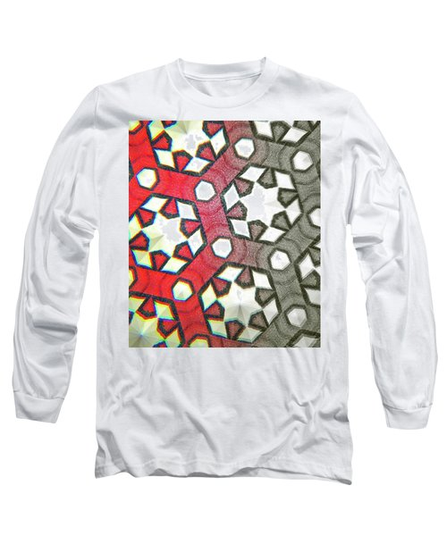 Geometry No. 12-1 Long Sleeve T-Shirt
