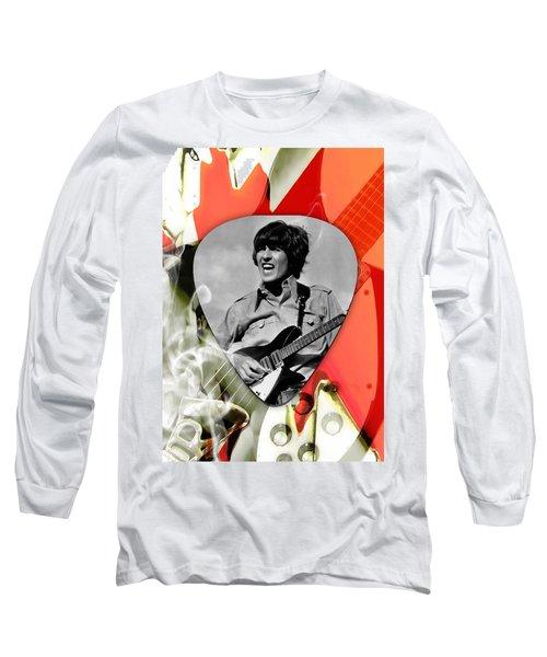 George Harrison The Beatles Art Long Sleeve T-Shirt