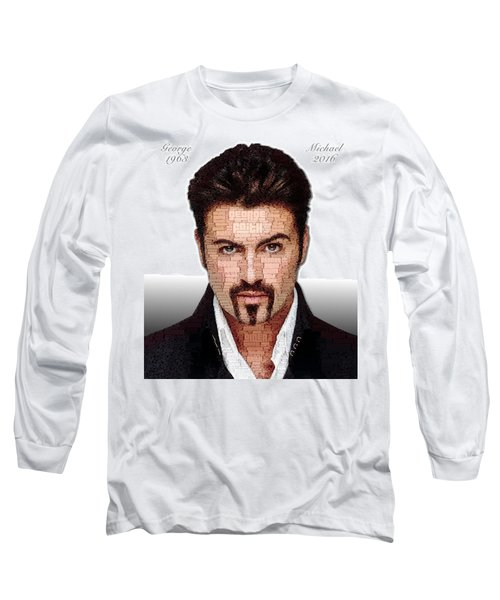 George Michael Tribute Long Sleeve T-Shirt