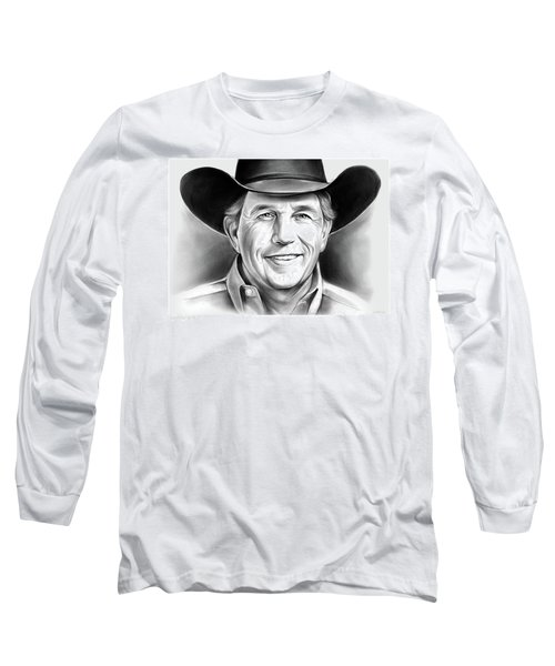 George Strait Long Sleeve T-Shirt