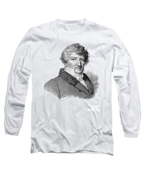 Georges Cuvier, French Naturalist Long Sleeve T-Shirt