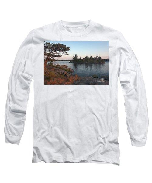 Georgian Bay Sunrise-4299 Long Sleeve T-Shirt