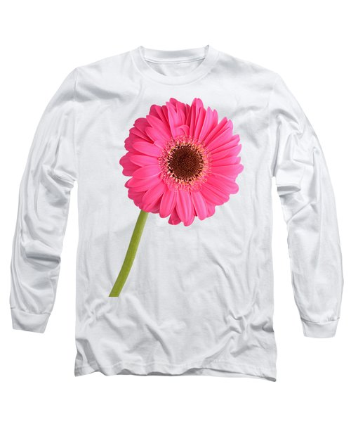 Long Sleeve T-Shirt featuring the photograph Gerbera by George Atsametakis