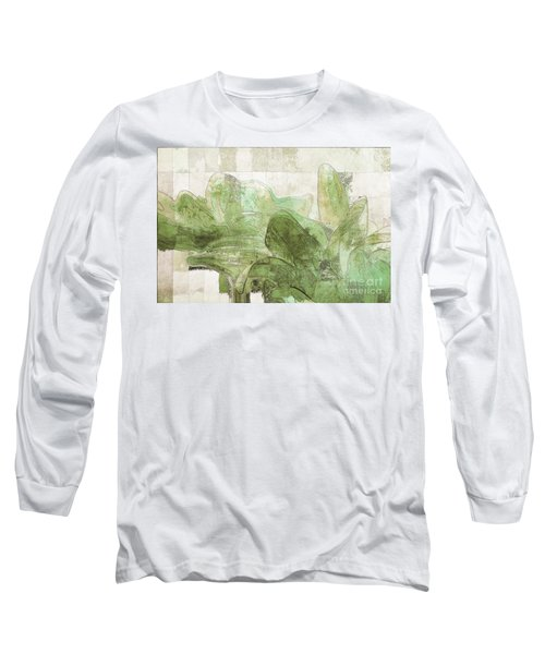 Long Sleeve T-Shirt featuring the digital art Gerberie - 30gr by Variance Collections