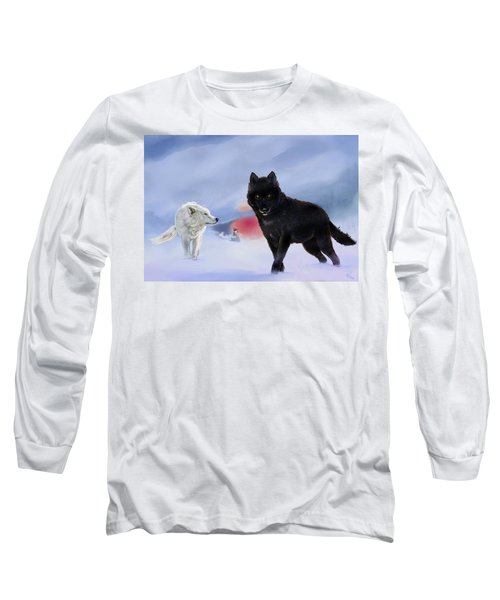 Geri And Freki Long Sleeve T-Shirt