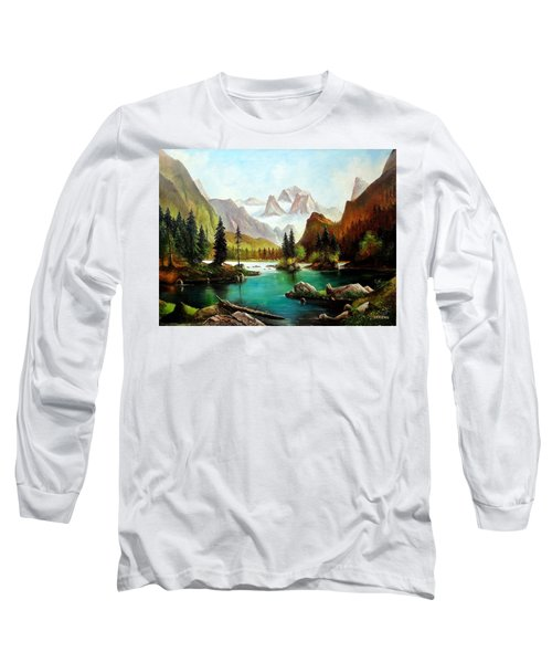 German Alps Long Sleeve T-Shirt