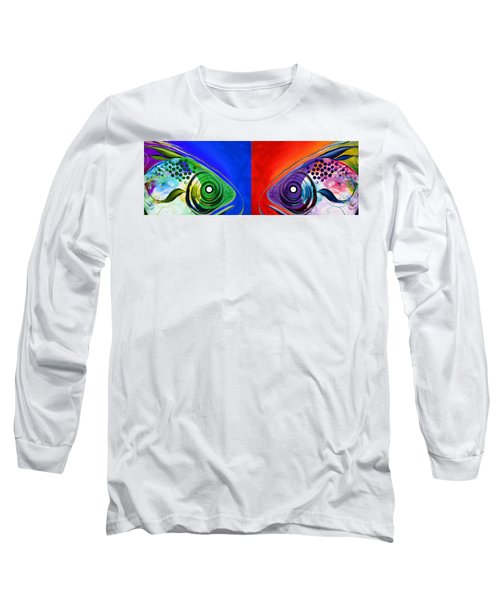 Get Your Fish Face Outta My Face Long Sleeve T-Shirt