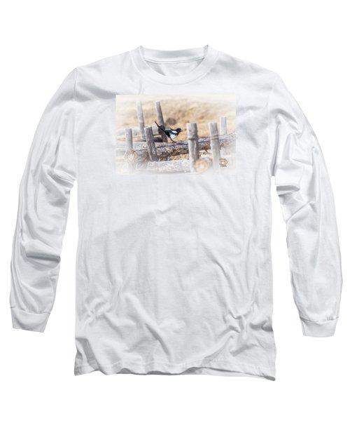 Gettin Jiggy Widit Long Sleeve T-Shirt by Daniel Hebard