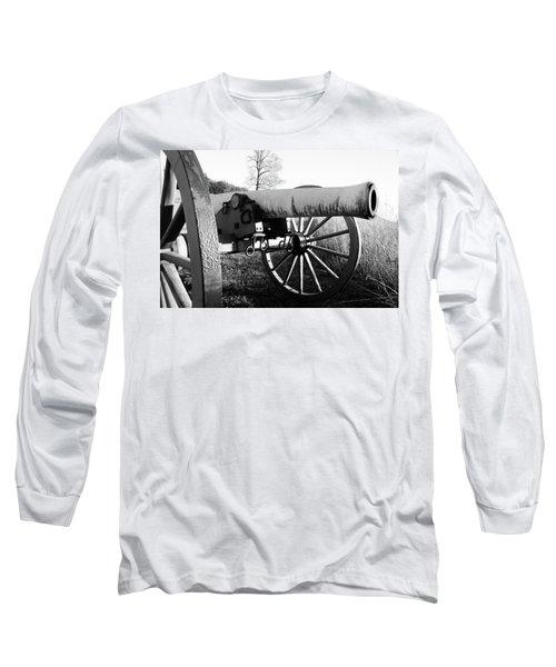 Gettysburg Cannon Long Sleeve T-Shirt