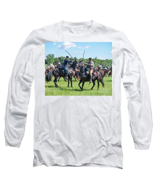 Gettysburg Cavalry Battle 7978c  Long Sleeve T-Shirt