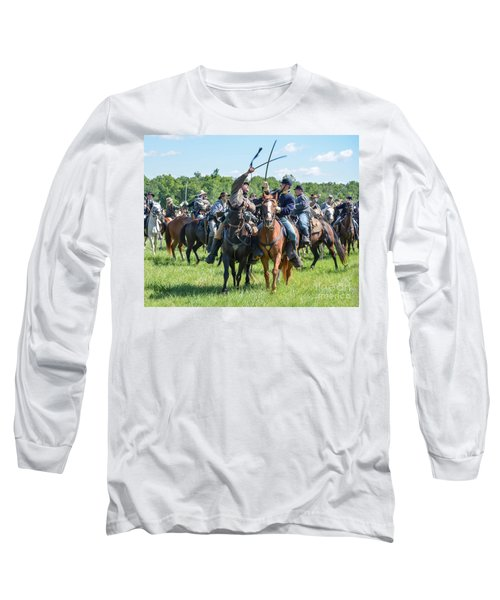 Gettysburg Cavalry Battle 7992c  Long Sleeve T-Shirt