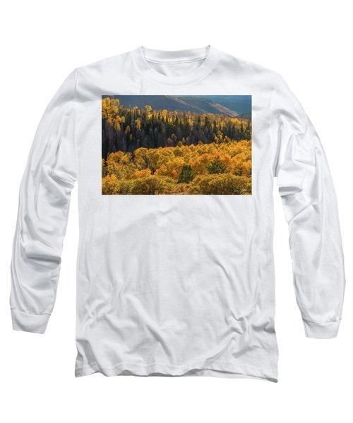 Geyser Pass Road, La Sal Mountains Long Sleeve T-Shirt
