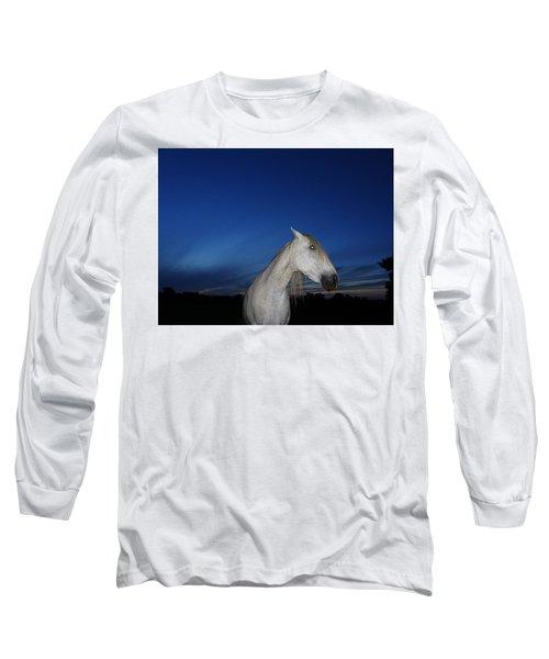 Ghost Horse Long Sleeve T-Shirt