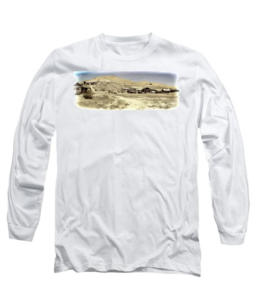 Ghost Town Textured Long Sleeve T-Shirt