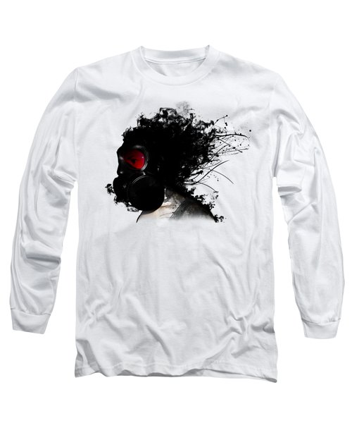 Ghost Warrior Long Sleeve T-Shirt by Nicklas Gustafsson