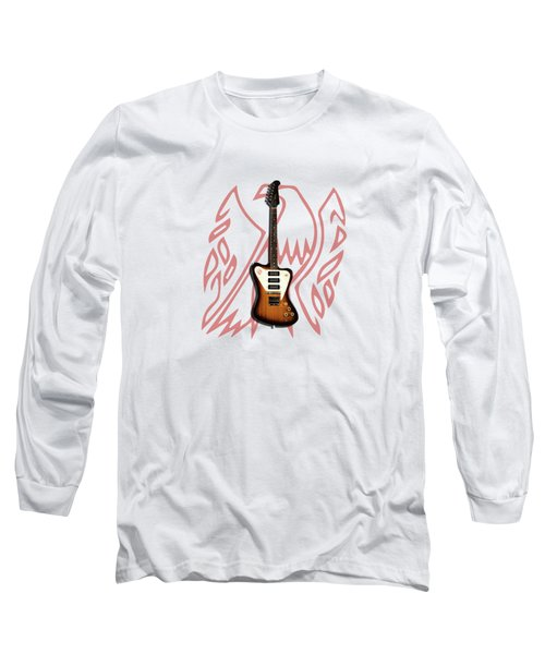 Gibson Firebird 1965 Long Sleeve T-Shirt by Mark Rogan