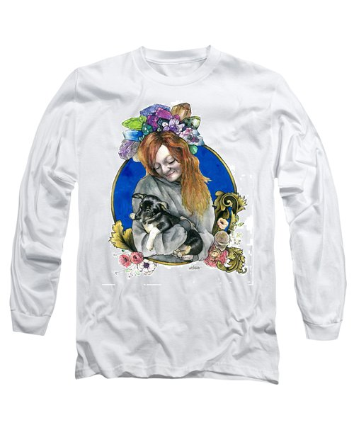 Ginger And Her Lovelies Long Sleeve T-Shirt by Arleana Holtzmann