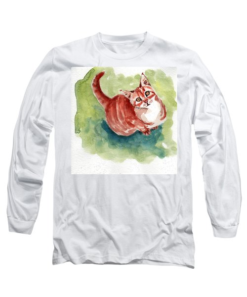 Ginger Tabby 8 Long Sleeve T-Shirt