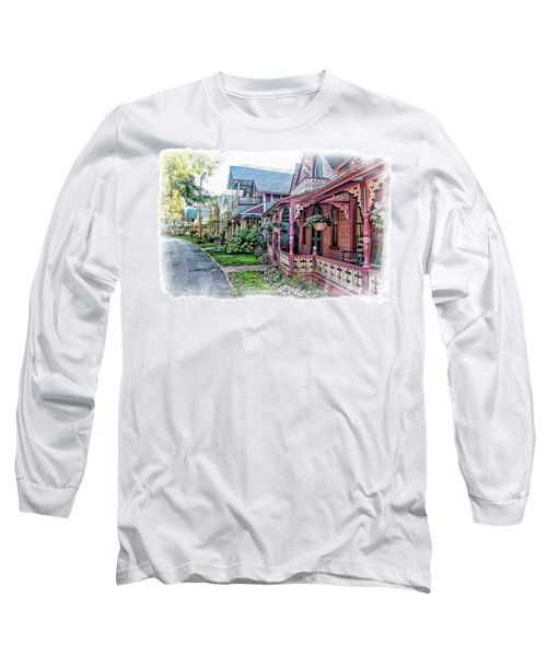 Gingerbread Row Long Sleeve T-Shirt