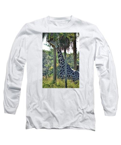 Giraffe Long Sleeve T-Shirt by Nikki McInnes