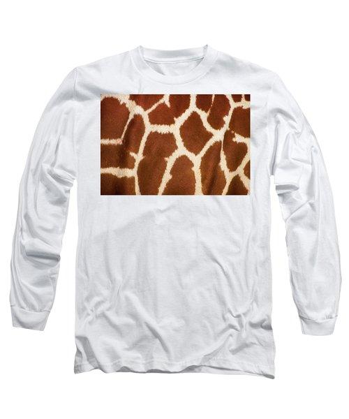 Giraffe Textures Long Sleeve T-Shirt