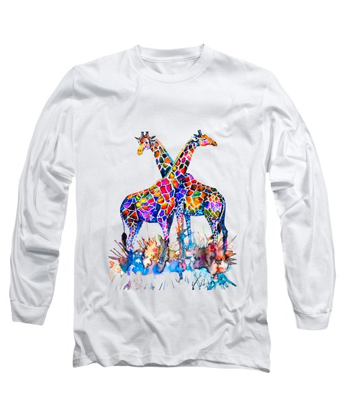 Giraffes Long Sleeve T-Shirt