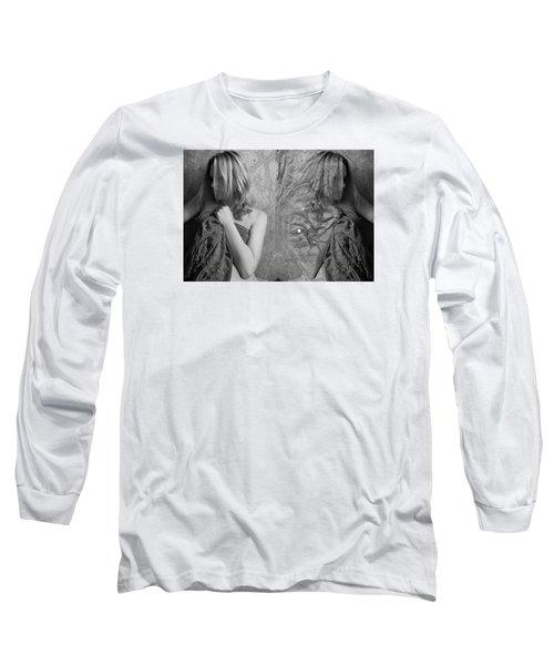 Girl #4335 Long Sleeve T-Shirt by Andrey Godyaykin