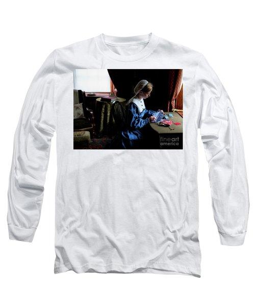 Girl Sewing Long Sleeve T-Shirt