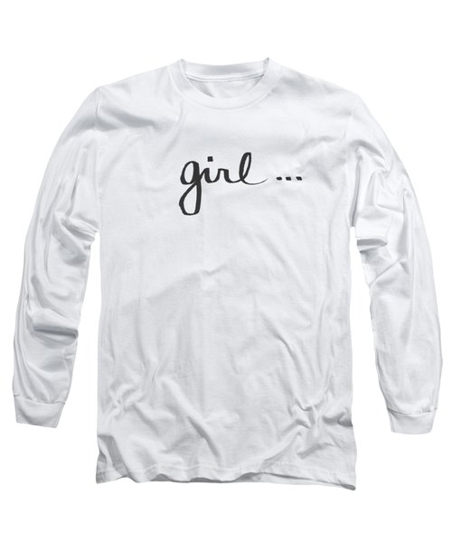 Girl Talk- Art By Linda Woods Long Sleeve T-Shirt